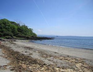 Dunoon beach